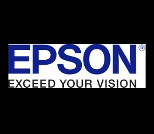 Das Logo des Herstellers Epson