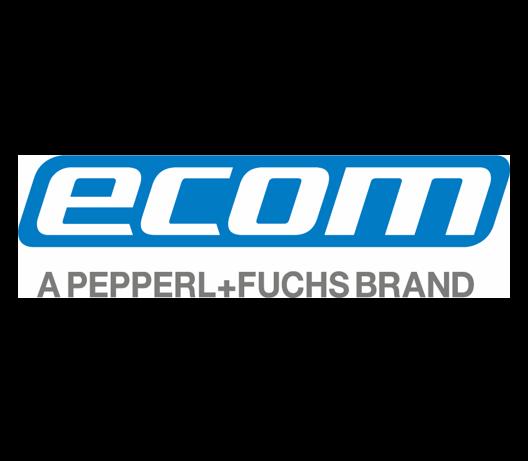 Das Logo des Herstellers ecom